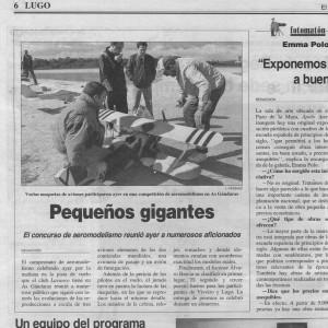 Prensa maquetas 99