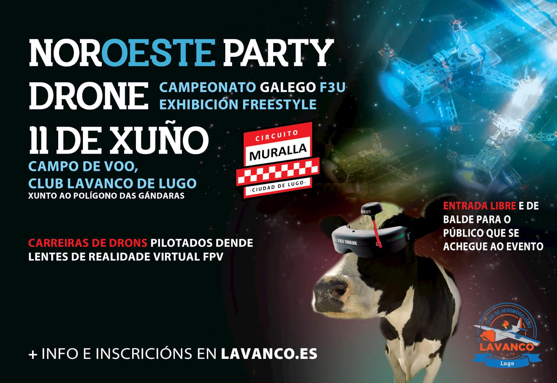 Carreras de drones en Galicia, campeonato F3U